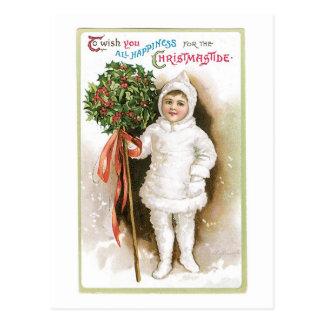 Zu Ihnen alles Glück für die WeihnachtsGezeiten Postkarte