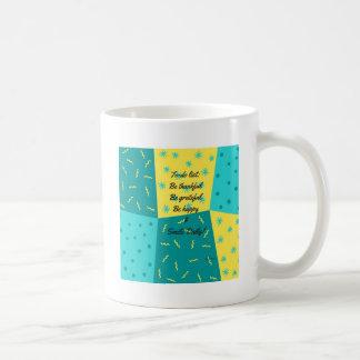 Zu-listen Sie auf Kaffeetasse