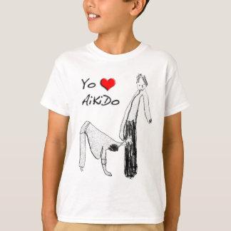Zu mag es mein mir den Aikido - Sankyo T-Shirt