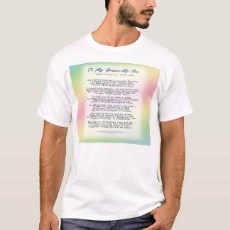 Zu meinem aufgewachsenen Sohn T-Shirt