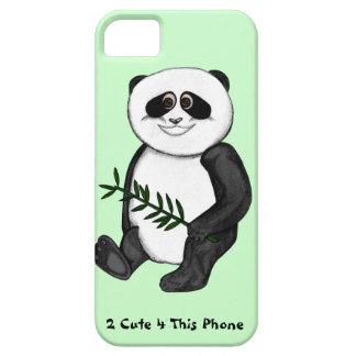 Zu niedlicher Panda-Bär iPhone 5 Schutzhüllen