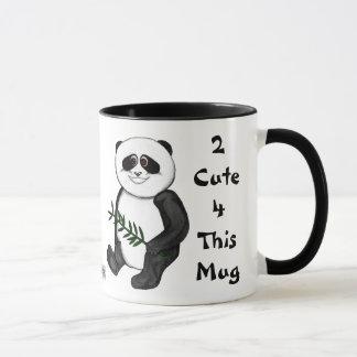 Zu niedlicher Panda-Bär Tasse