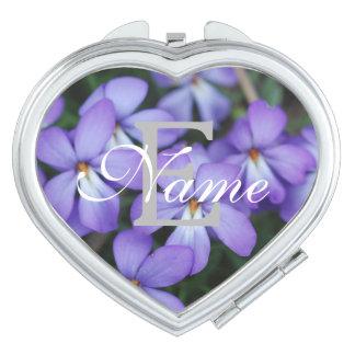 Zu personifizieren Rurple Blumen-Make-upspiegel Schminkspiegel
