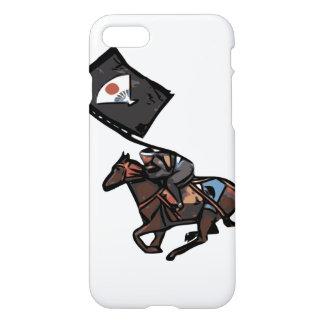 Zu Pferde Samuraitelefonkasten iPhone 8/7 Hülle