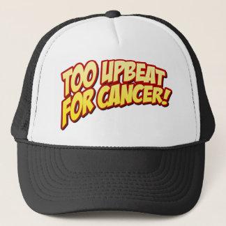 Zu positiv für Krebs-Hut Truckerkappe