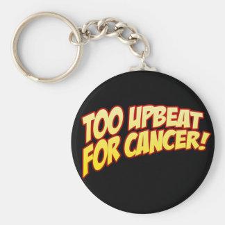 Zu positiv für Krebs-Schlüsselring Schlüsselanhänger