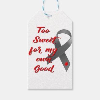 Zu süß - Diabetes-Band-Geschenk Geschenkanhänger