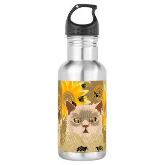 Zu viele Marienkäfer neutral Trinkflasche