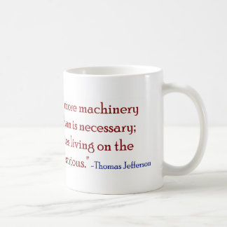 Zu viele Regierungsparasiten Kaffeetasse