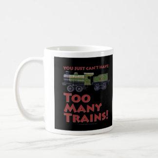 Zu viele Züge! UhrwerkLoco Kaffeetasse