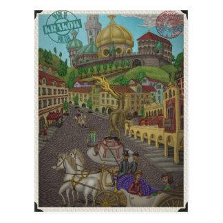 Zu Wawel Krakau durch Ordovich Postkarte