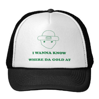 Zu wissen ich will, um wo DA-Gold an Retrokultmütze