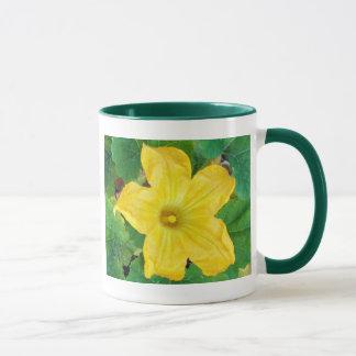 Zucchini-Blume Tasse
