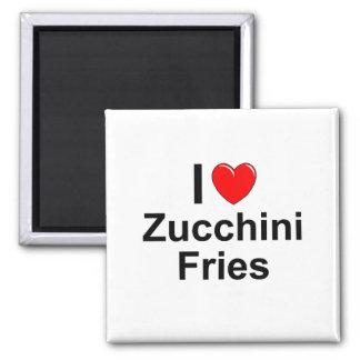 Zucchini-Fischrogen Quadratischer Magnet