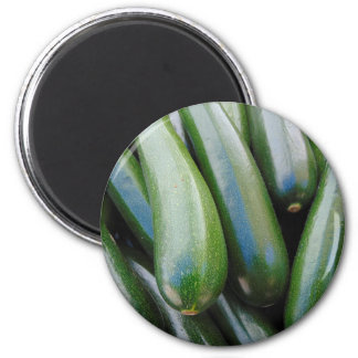 Zucchini Runder Magnet 5,7 Cm