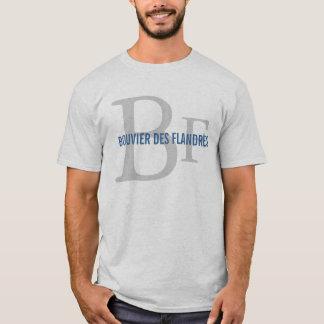 Zucht-Monogramm Bouvier DES Flandres T-Shirt