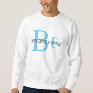 Zucht-Monogramm-Shirt Bouvier DES Flandres Sweatshirt