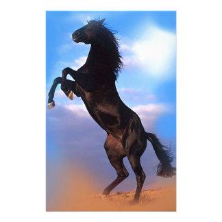 Züchtung des Pferds Briefpapier