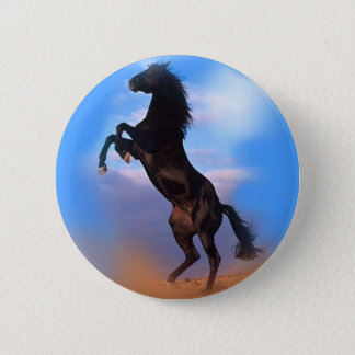 Züchtung des Pferds Runder Button 5,1 Cm