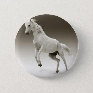 Züchtung des Pferds Runder Button 5,7 Cm