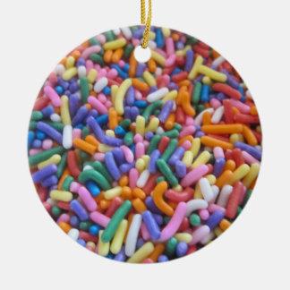 Zucker besprüht keramik ornament