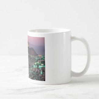 Zuckerhut-Berg Brasiliens Rio de Janeiro (St.K.) Kaffeetasse