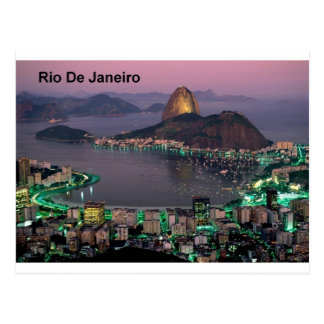 Zuckerhut-Berg Brasiliens Rio de Janeiro (St.K.) Postkarte