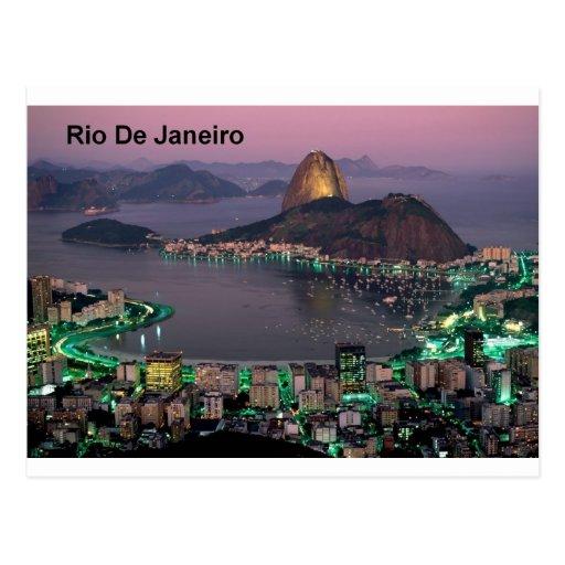 Zuckerhut-Berg Brasiliens Rio de Janeiro (St.K.) Postkarten