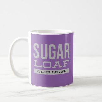 Zuckerlaib-Verein-Niveau-Tasse Kaffeetasse