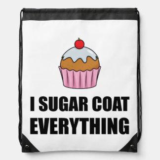 Zuckermantel alles kleiner Kuchen Sportbeutel