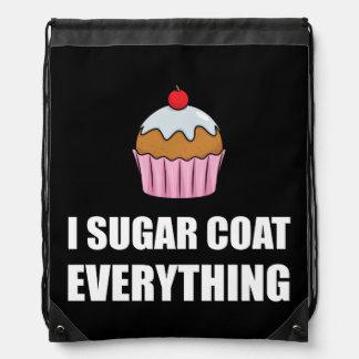 Zuckermantel alles kleiner Kuchen Turnbeutel