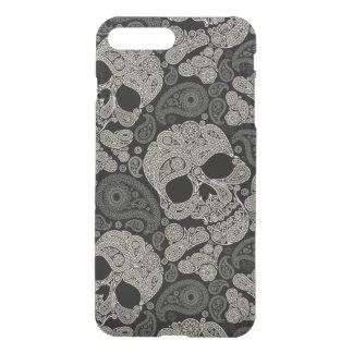 Zuckern Sie Schädel-Knochen-Muster iPhone 7 iPhone 8 Plus/7 Plus Hülle