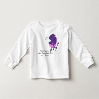 Zuckerpflaumen-Fee Kleinkind T-shirt