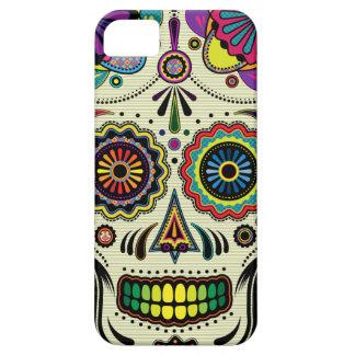 Zuckerschädel-Azteke-Kunst Barely There iPhone 5 Hülle