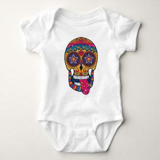 ZUCKERschädel Baby Strampler