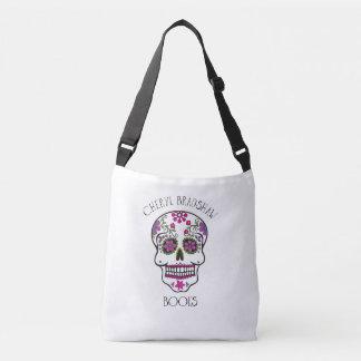 Zuckerschädel-Bote-Tasche Tragetaschen Mit Langen Trägern