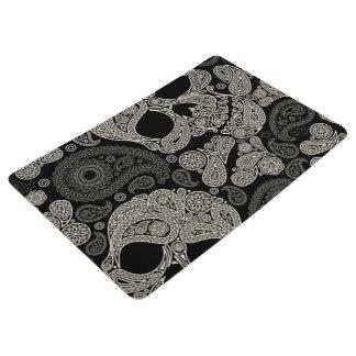 Zuckerschädel-Knochen-Muster-Boden-Matte Bodenmatte
