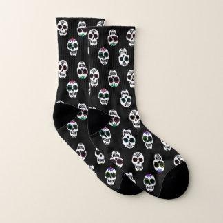 Zuckerschädel-Muster Socken