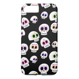 Zuckerschädel-Muster-Telefon-Kasten iPhone 8 Plus/7 Plus Hülle