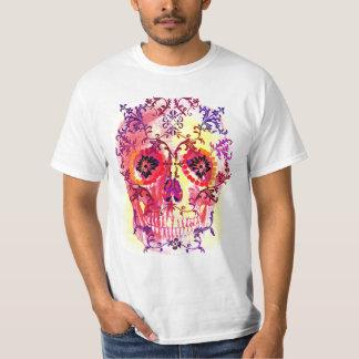 ZUCKERschädel-PSYCHEDELISCHER DRUCK T-Shirt