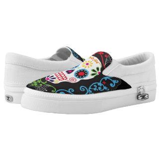 Zuckerschädel-Schuhe Slip-On Sneaker