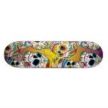 Zuckerschädel Skateboard Brett