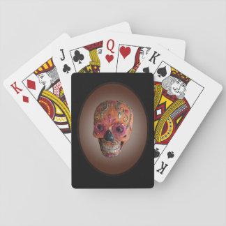 Zuckerschädel-Spielkarten Spielkarten