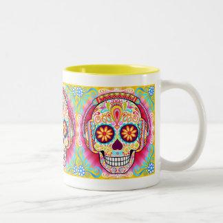 Zuckerschädel-Tasse - Tag der toten Tasse