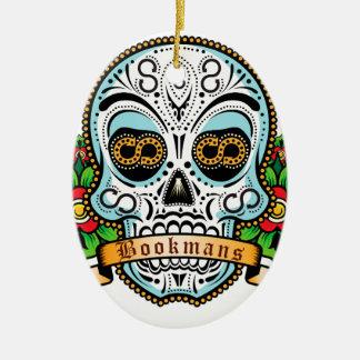 Zuckerschädel-Vorlage Keramik Ornament