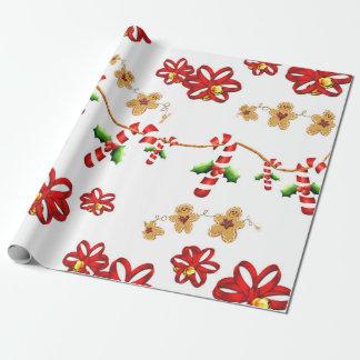 Zuckerstange, Bogen-Foto-Glanz-Verpackungs-Papier Geschenkpapierrolle