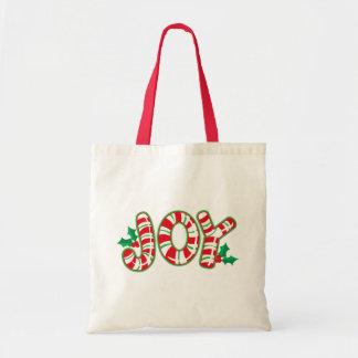 Zuckerstange-Freude-Taschen-Tasche Tragetasche