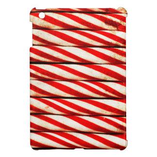 Zuckerstange-gestreifte rote weißes iPad mini hülle