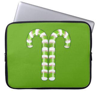 Zuckerstange-grüne Laptop-Hülse Laptop Sleeve