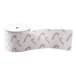 Zuckerstange-Muster Ripsband